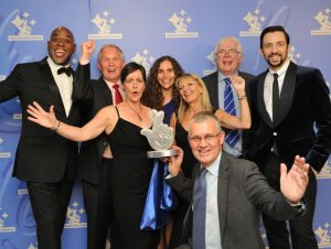 national-lottery-awards-2016-lion-salt-works-celebrating-with-ainsley-harriott-and-ralf-little